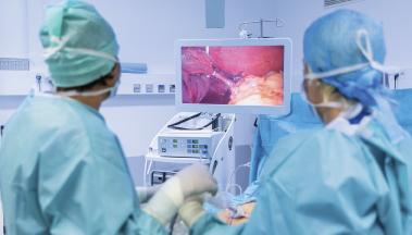 equipo sanitario para grastroenterologos